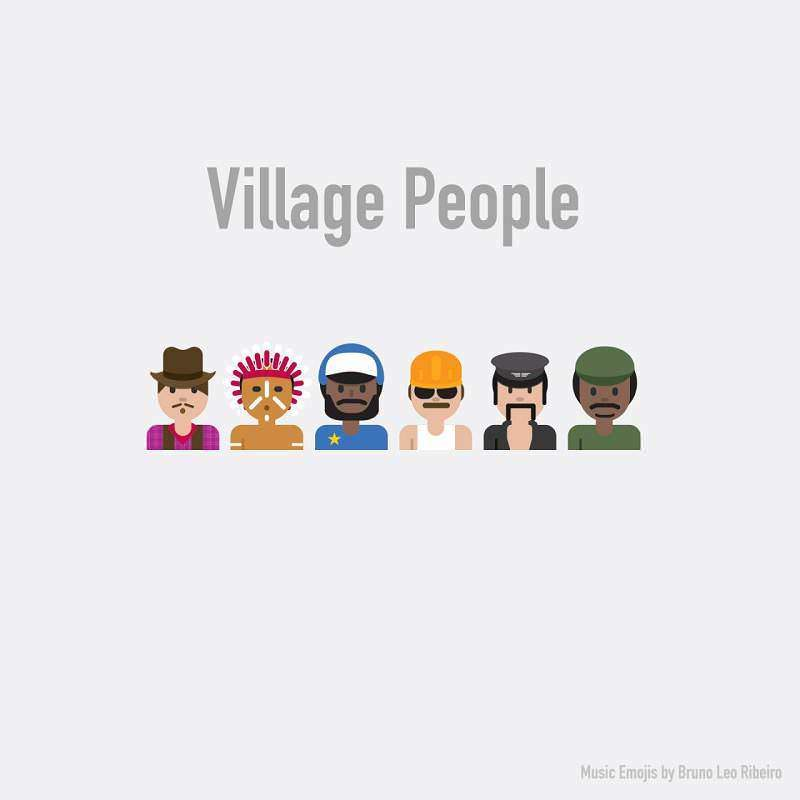 Village People Emojisi