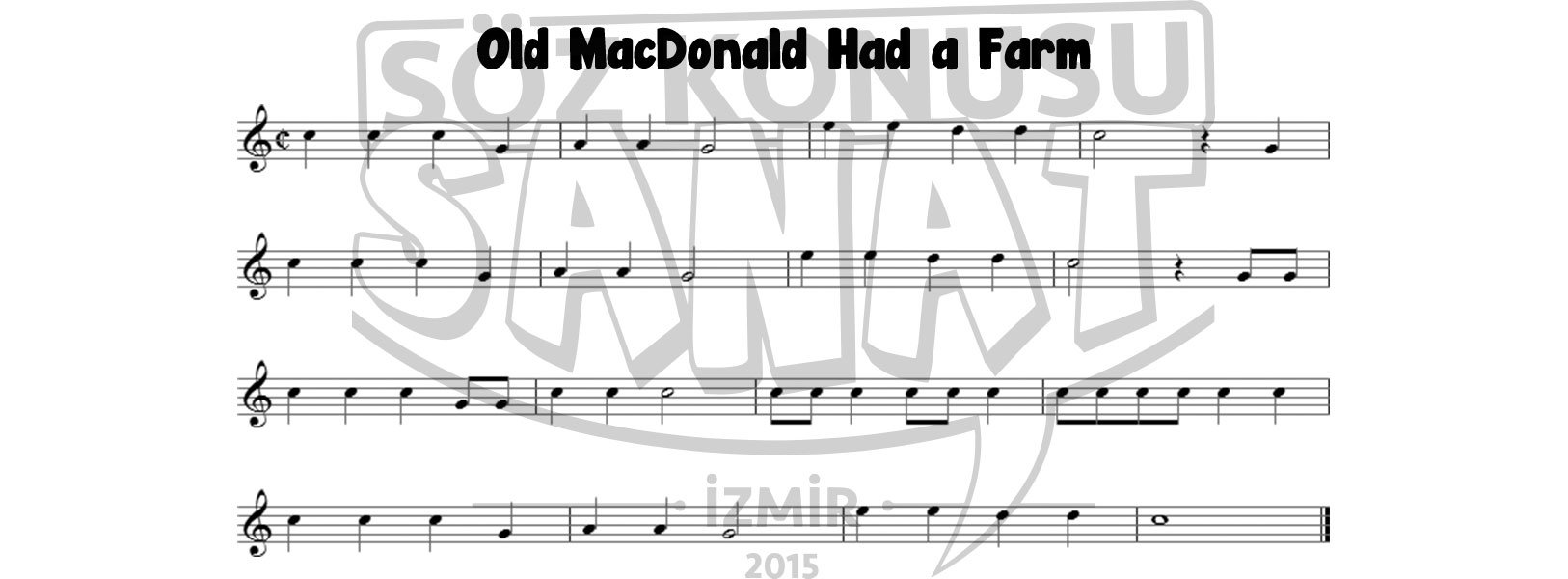old-macdonald-had-a-farm-keman-notası